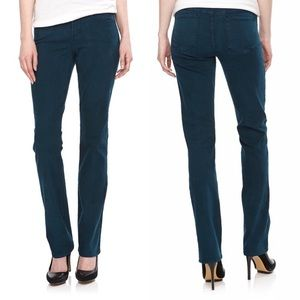NYDJ Marilyn Straight Leg Jean In Studio Teal NWOT